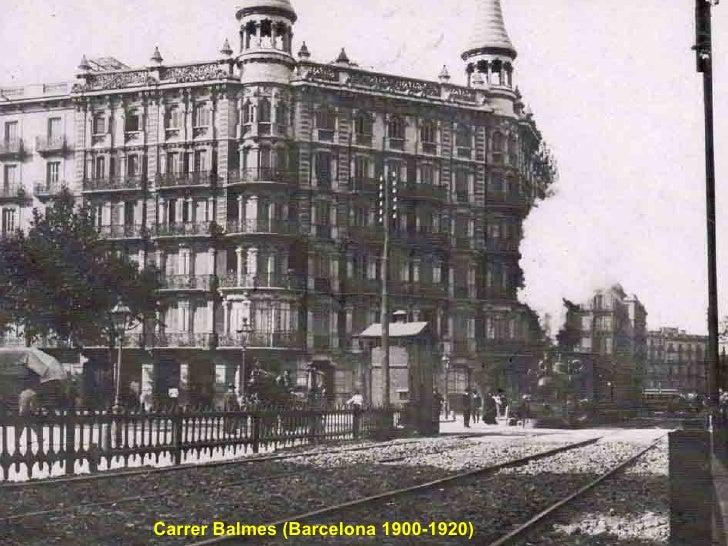 Carrer Balmes (Barcelona 1900-1920)