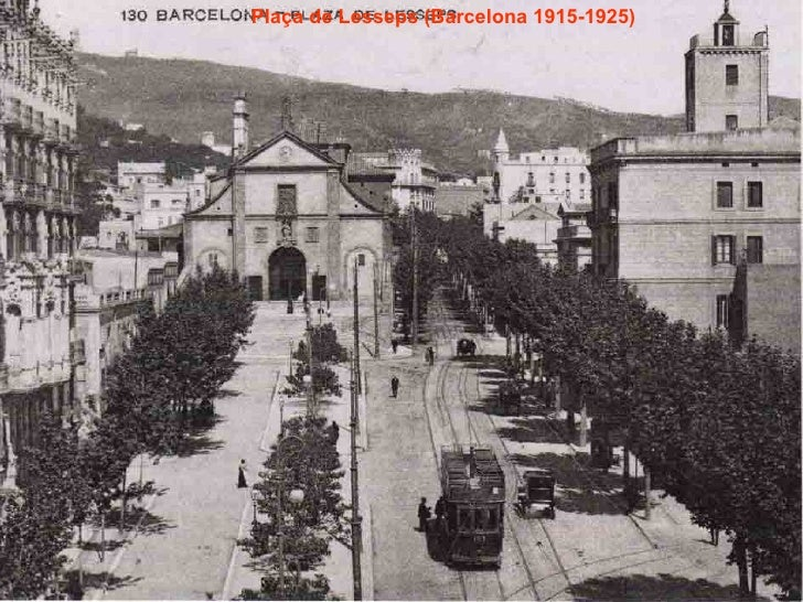 Plaça de Lesseps (Barcelona 1915-1925)