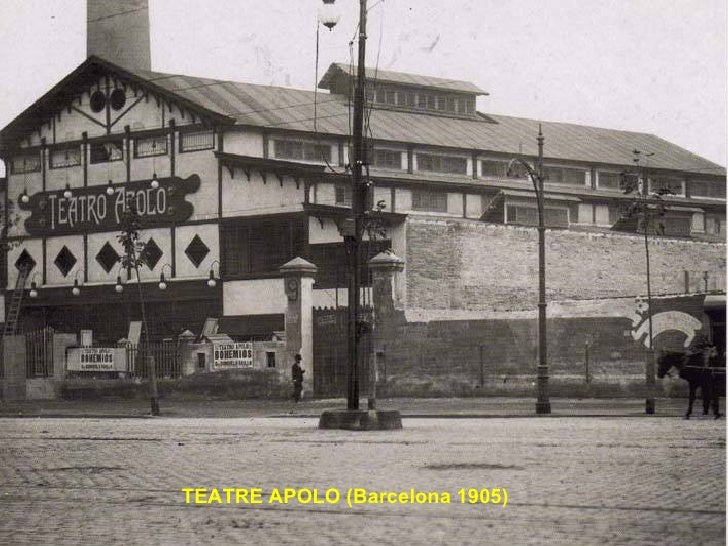 TEATRE APOLO (Barcelona 1905)