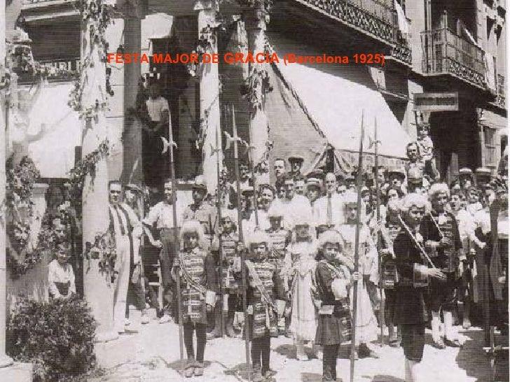 FESTA MAJOR DE  GRÀCIA  (Barcelona 1925)