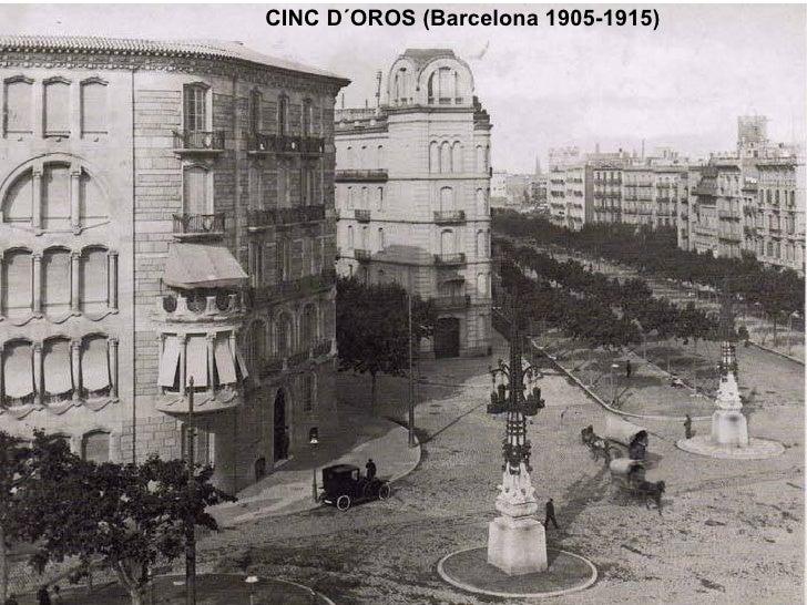 CINC D´OROS (Barcelona 1905-1915)