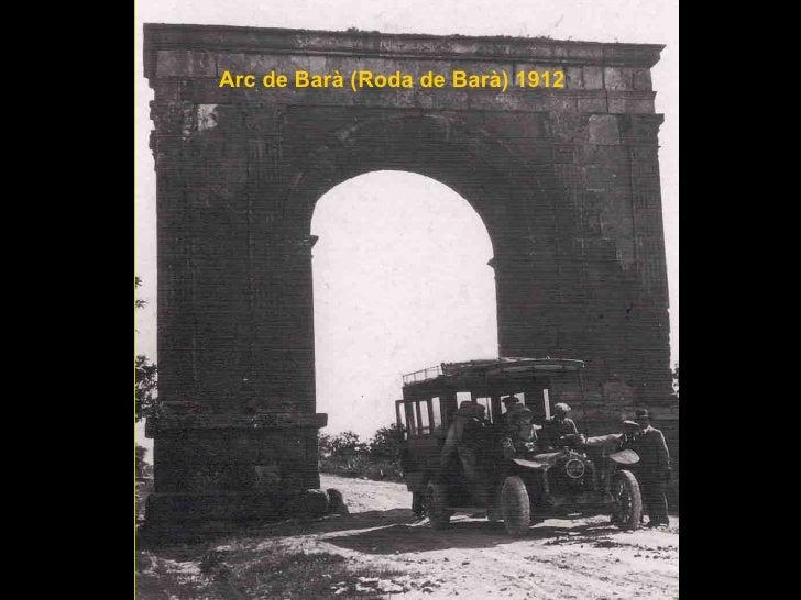 Arc de Barà (Roda de Barà) 1912
