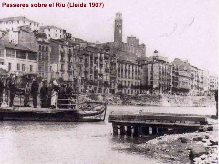Passeres sobre el Riu (Lleida 1907)