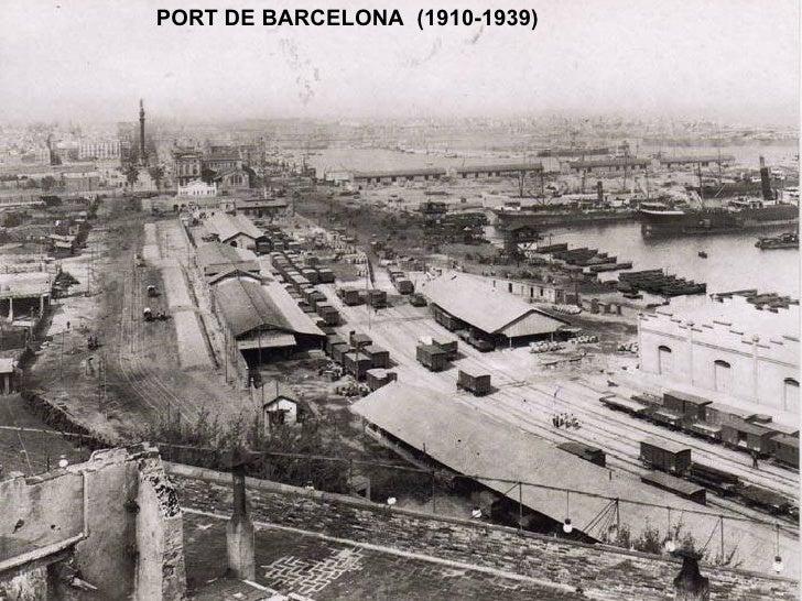 PORT DE BARCELONA  (1910-1939)