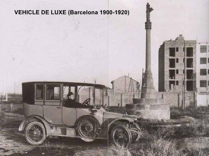 VEHICLE DE LUXE (Barcelona 1900-1920)
