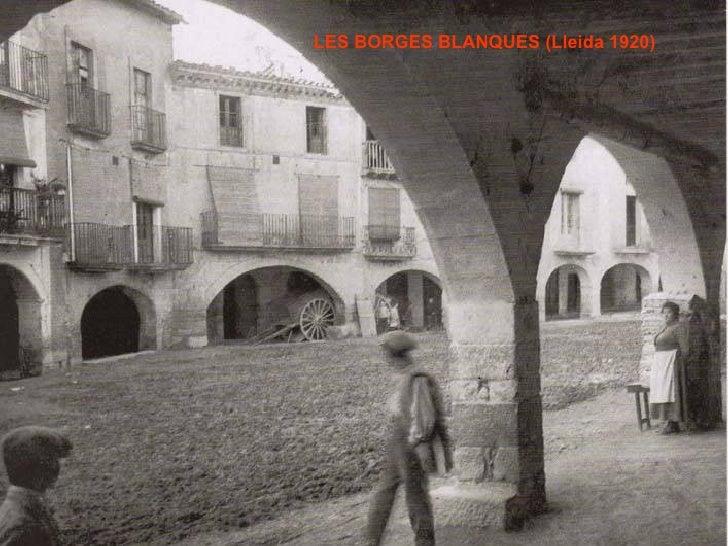 LES BORGES BLANQUES (Lleida 1920)