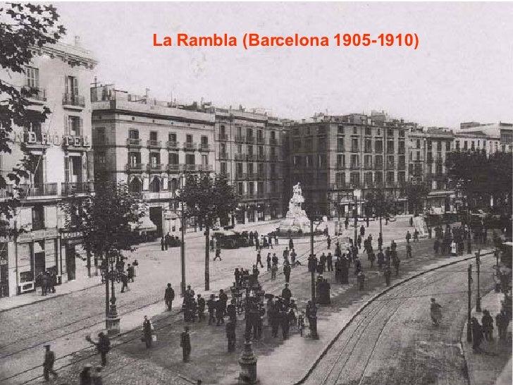 La Rambla (Barcelona 1905-1910)