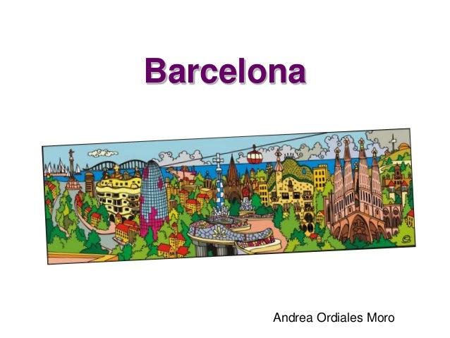 Barcelona Andrea Ordiales Moro