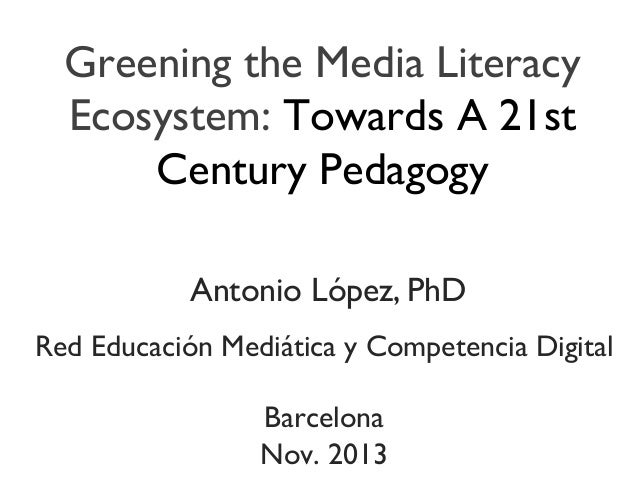 Greening the Media Literacy