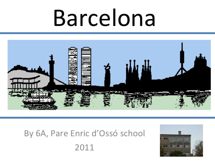 Barcelona   By 6A, Pare Enric d'Ossó school 2011