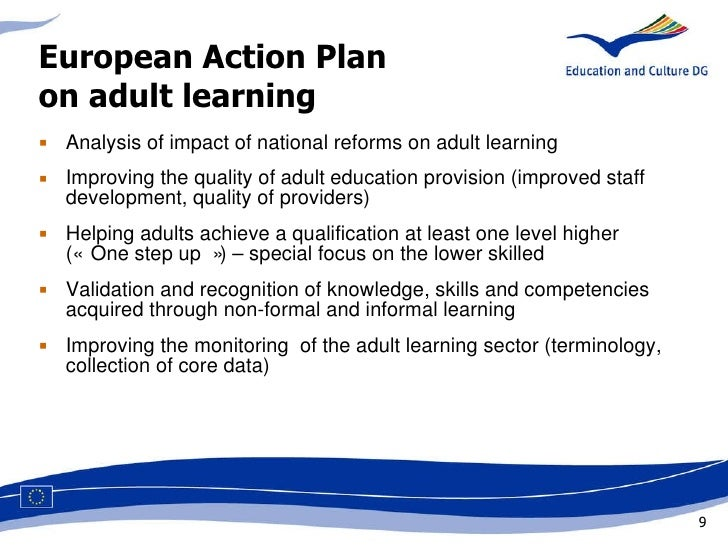 adult education and adult learning analysis