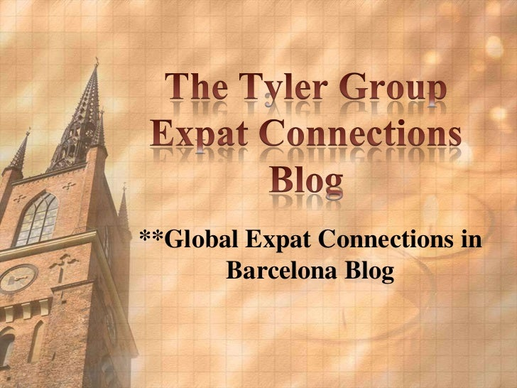 **Global Expat Connections in       Barcelona Blog