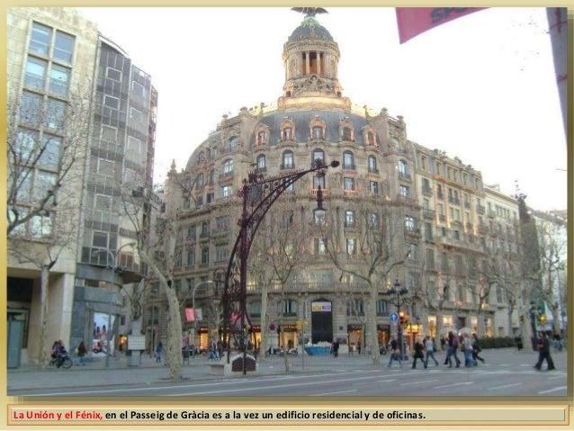 Barcelona monumental 31 edifici la uni n y el f nix - Oficinas western union en barcelona ...