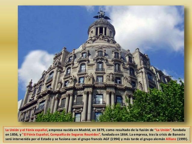 Barcelona monumental 31 edifici la uni n y el f nix for Oficinas de allianz en madrid