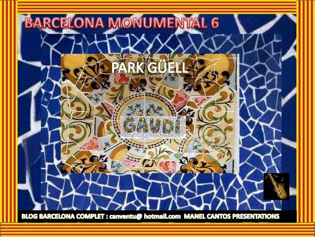 PARK GÜELL fue diseñado por el Antoni Gaudí, máximo exponente del modernismo catalán, por encargo del empresario Eusebi Gü...