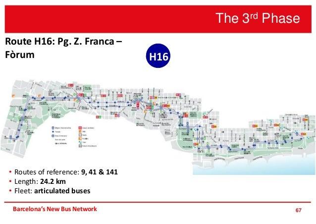 Barcelona\'s new bus network