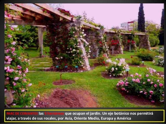 Barcelona 77 les corts pedralbes 2 districte municipal - Jardines de barcelona ...