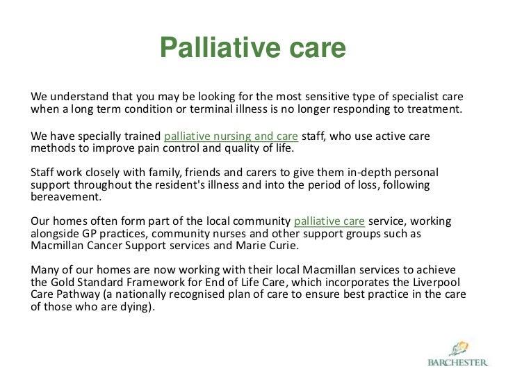 Domiciliary, Nursing and Palliative Care & Support