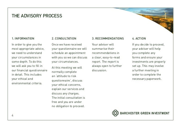 THE ADVISORY PROCESS1. INFORMATION                2. CONSULTATION               3. RECOMMENDATIONS        4. ACTIONIn orde...