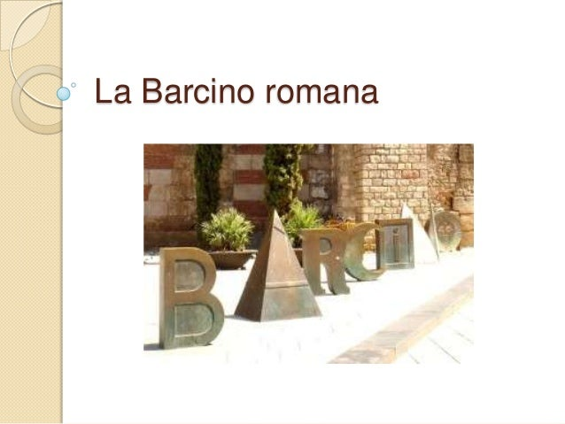 La Barcino romana
