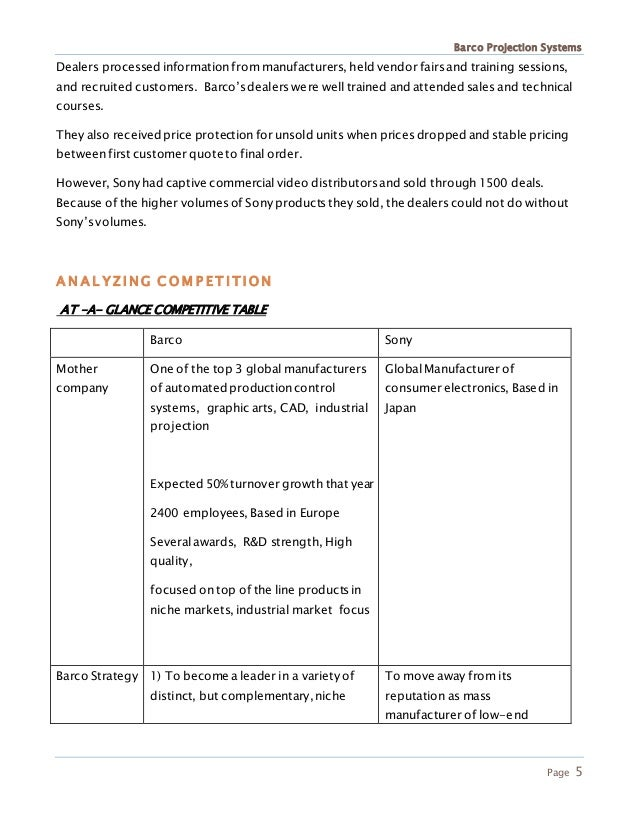 Case Study Reflex Systems Essay Sample