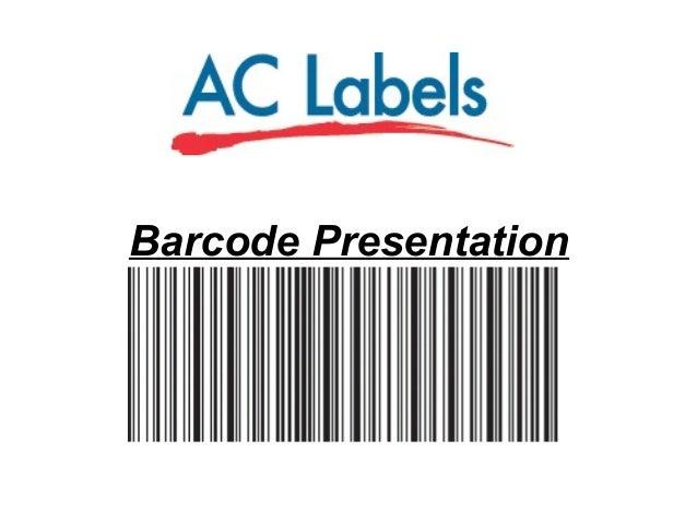 Barcode Presentation