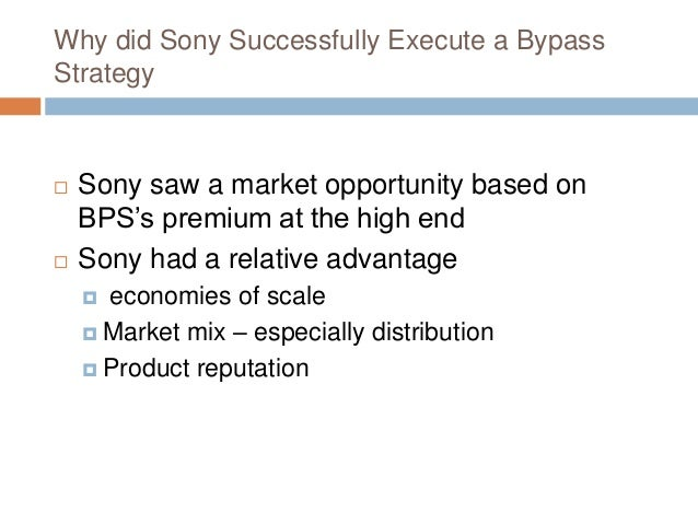 Sony accept barco vision of the market