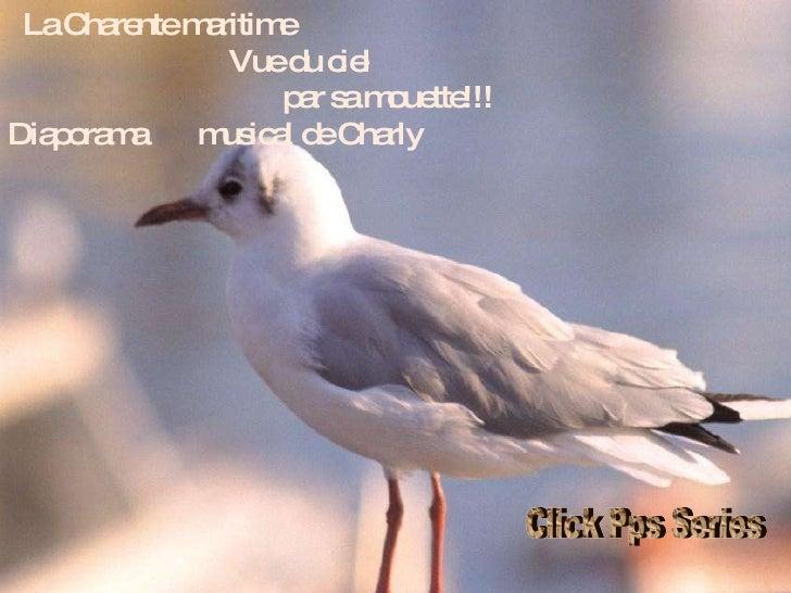 La Charente maritime  Vue du ciel  par sa mouette!!! Diaporama  musical de Charly Click Pps Series