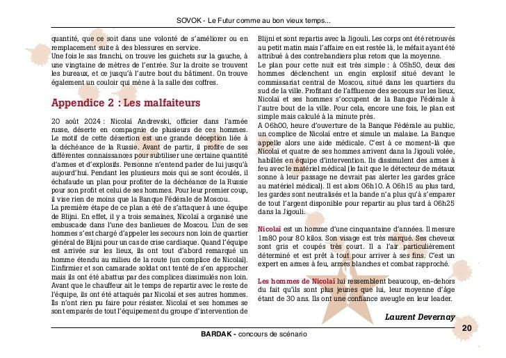 SOVOK - Le Futur comme au bon vieux temps...quantité, que ce soit dans une volonté de s'améliorer ou en          Blijni et...