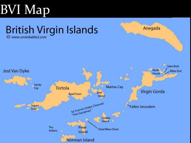 Us British Islands Map