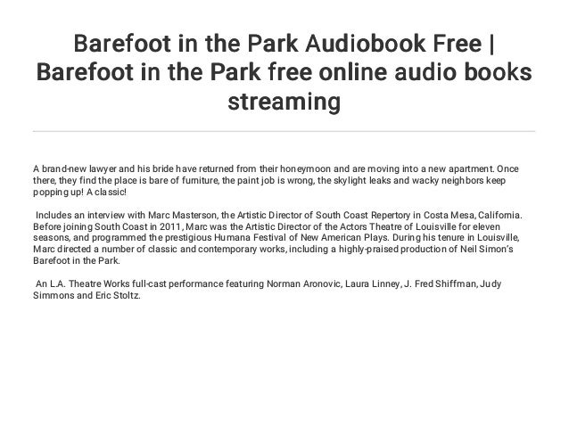 Barefoot in the Park Audiobook Free | Barefoot in the Park
