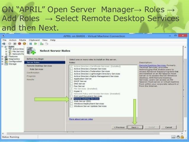 Deploy & Configure Remote Desktop Gateway in Windows Server