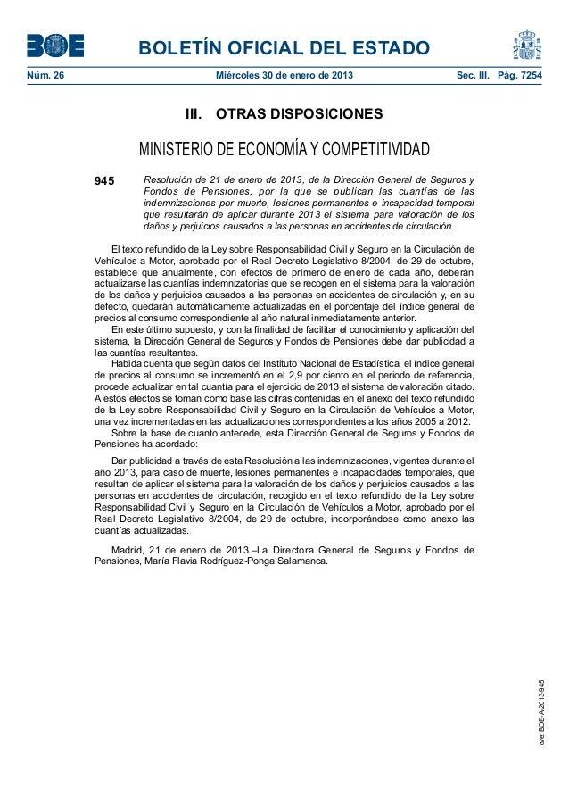 BOLETÍN OFICIAL DEL ESTADONúm. 26                                Miércoles 30 de enero de 2013                          ...
