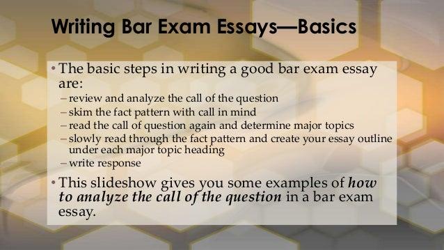 handwriting bar exam tips