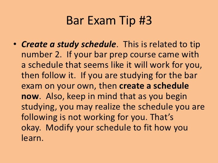 Bar Exam Tips | Colorado Law | University of Colorado Boulder