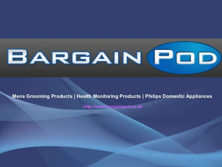 Mens Grooming Products | Health Monitoring Products | Philips Domestic Appliances  http://www.bargainpod.co.uk