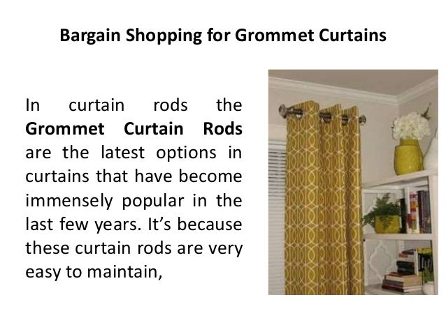 Bargain Shopping for Curtains