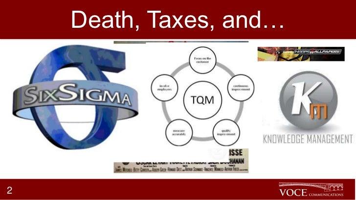 Death, Taxes, and…2