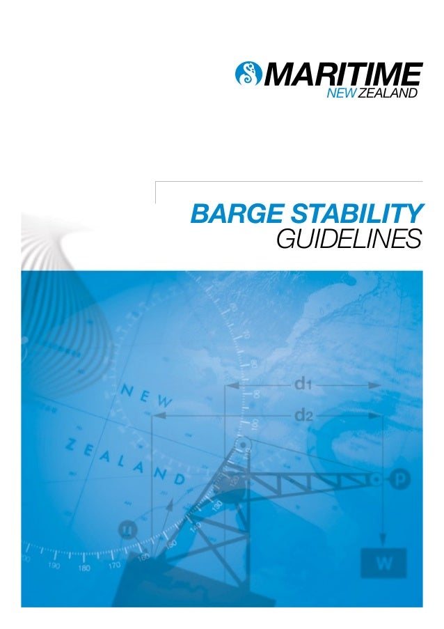 BARGE STABILITY GUIDELINES