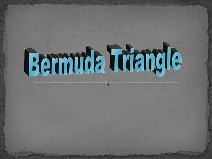 The Bermuda Triangle, also known as the Devils Triangle, is a  region in the western part of the North Atlantic Ocean wher...