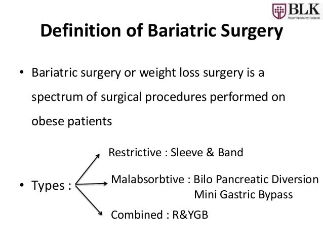Bariatric Surgery An Overview