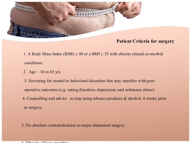 Bariatric surgery ppt o&g