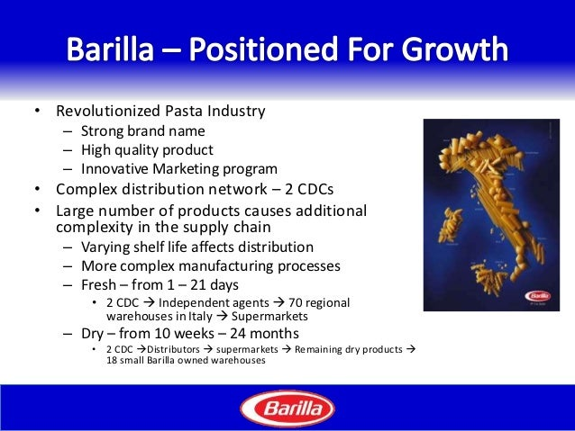 barilla jitd program essay Free essay: najib abdi dsci 434 3/24/2011 barilla spa case study 1 diagnose  the underlying causes of the difficulties that the jitd program.