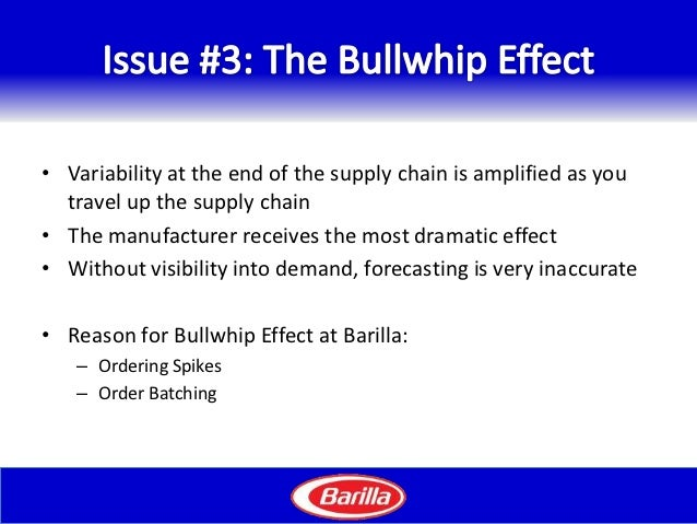 Barilla: Just-In-Time Distribution System