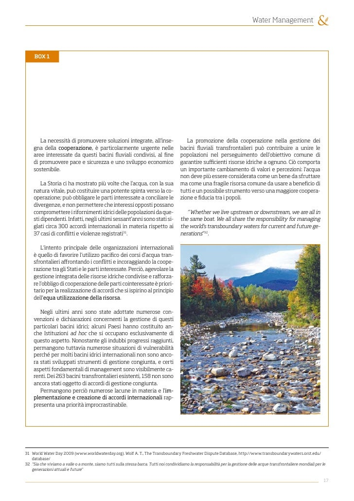 essay on watershed management A watershed perspective rather than only within the site boundary  introduction environmental management system plan • 2-2 the , , environmental ).