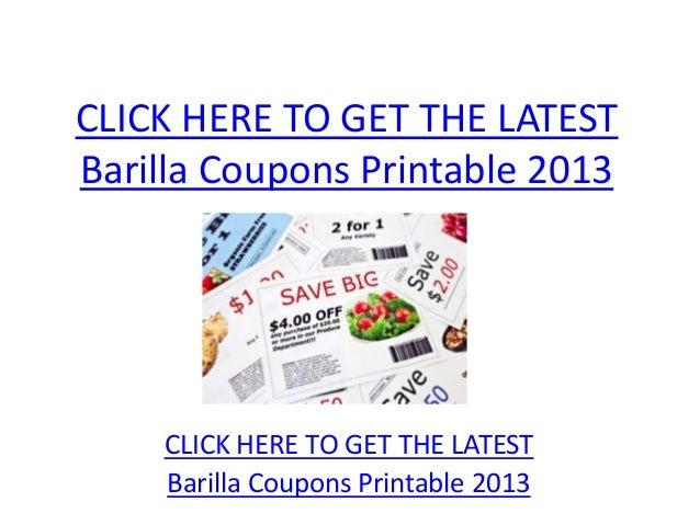 picture regarding Barilla Printable Coupons called Barilla Discount codes Printable 2013 - Barilla Discount codes Printable 2013