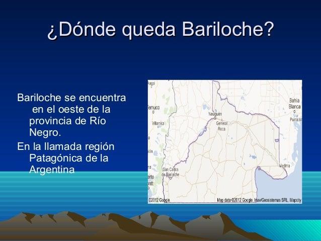 Bariloche la ciudad for Marmol donde se encuentra