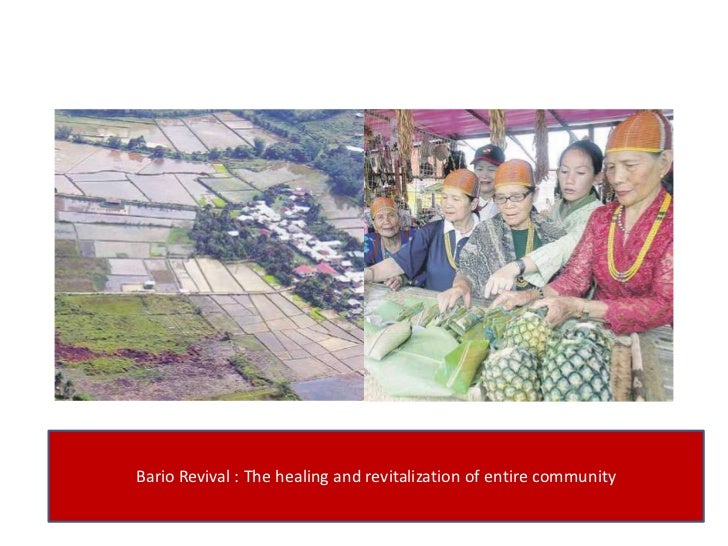 Bario Revival : The healing and revitalization of entire community<br />