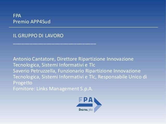 BaRisolve - Premio APP4Sud Slide 3