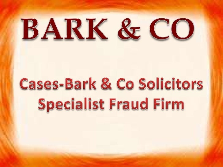 These are our some of our cases of note:R v NadirDescription: Bark & Co have been instructed by the former CEO of Polly Pe...